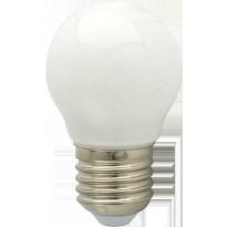 LED-lamppu G45 Pallo FocusLight, 4W, 230V, 3000K, 400lm, IP20, Ø 45mm, valkoinen