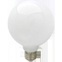 LED-lamppu G95 FocusLight, 8W, 230V, 3000K, 850lm, IP20, Ø 135mm, valkoinen