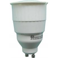 Lamppu GU10 FocusLight, 11W, 230V, 3000K, 220lm, IP20, Ø 50mm, valkoinen