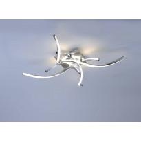 Kattovalaisin Paul Neuhaus Polina LED, 4x6,75W, 230V, 3000K, 2300lm, IP20, teräs