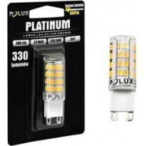 LED-lamppu Polux G9, 3,5W, IP20, Ø 16mm, valkoinen, 5kpl
