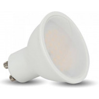 LED-lamppu GU10 V-TAC VT-2887D, 7W, 230V, 3000K, 500lm, IP20, Ø 50mm