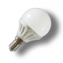 LED-lamppu P45 Pallo V-TAC VT-1819, 4W, 230V, 2700K, 320lm, IP20, Ø 45mm