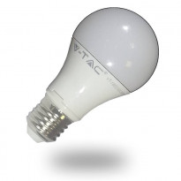 LED-lamppu A60 V-TAC VT-1853, 10W, 230V, 2700K, 806lm, IP20, Ø 60mm