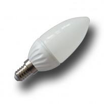 LED-lamppu Kynttilä V-TAC VT-1818, 4W, 230V, 2700K, 320lm, IP20, Ø 38mm