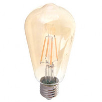 LED-lamppu ST64 V-TAC VT-1964, 4W, 230V, 2200K, 350lm, IP20, Ø 58mm, amber kupu