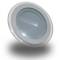 Upotettava LED-valaisin V-TAC VT-1202G RD, 12W, 230V, 3000K, 840lm, IP20, Ø 160mm, valkoinen
