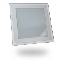 Upotettava LED-valaisin V-TAC VT-1881G SQ, 18W, 230V, 3000K, 1260lm, IP20, valkoinen