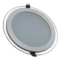 Upotettava LED-valaisin V-TAC VT-1881G RD, 18W, 230V, 3000K, 1260lm, IP20, Ø 198mm, valkoinen