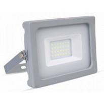 LED-valonheitin V-TAC Slim Vt-4922, 20W, IP44, harmaa