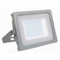 LED-valonheitin V-TAC Slim Vt-4933, 30W, IP44, harmaa