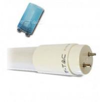 LED-loisteputki V-TAC Vt-1585Smd, 22W, IP20, Ø 28x1500mm, valkoinen