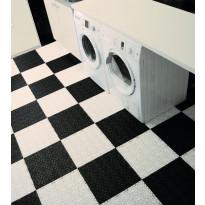 Monitoimilaatta Flooria Bergo XL System 2 Silk Black, 38x38cm