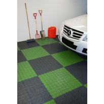 Monitoimilaatta Flooria Bergo XL System 2 Spring Grass, 38x38cm