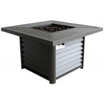 Liekkipöytä 9106, 1066x1066x635 mm, alumiinia, kaasukäyttöinen