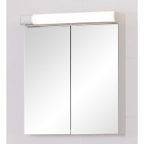 Peilikaappi Finnmirror 56 LED-valaistuksella ja pistorasialla, valkoinen