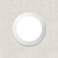 Katto-/seinävalaisin Fumagalli Berta, Ø275x80mm, valkoinen