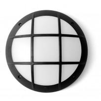 Katto-/seinävalaisin Fumagalli GelmiGR, Ø313x90mm, musta