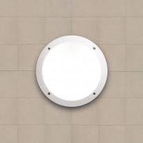 Katto-/seinävalaisin Fumagalli Lucia, Ø300x90mm, valkoinen