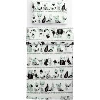 Lasten pussilakanasetti Familon Karhunen, 120x160cm, minttu