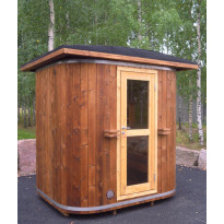 Sauna Aku, 4m², lämpöpuu
