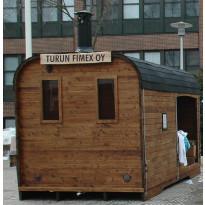 Sauna Aku, 9m², lämpöpuu