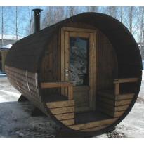 Pesäsauna Kerttu, 200x400, lämpöpuu
