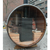 Maisemapesäsauna Sunny, 200x400, lämpöpuu