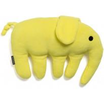 Pehmotyyny Elefanttia, keltainen, 40x30cm