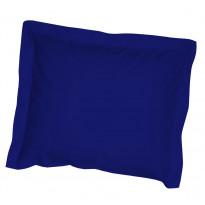Satiinisiipityynyliina, tummansininen, 55x65cm