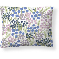 Tyynyliina Finlayson Armas, 50x60cm, valkoinen/lila/sininen