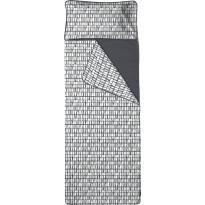 Unipussi Finlayson, Coronna 90x250cm, valkoinen/musta