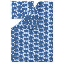 Lasten pussilakanasetti Finlayson Elefantti, 120x160, sininen
