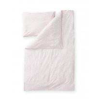 Vauvan pussilakanasetti Finlayson Pilkkuva, 85x125+40x60cm, roosa