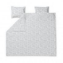 Parivuoteen pussilakanasetti Finlayson Mukula, 240x210+50x60cm, vaaleanharmaa