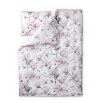 Satiinipussilakanasetti Finlayson Magnolia, 150x210cm, lila, roosa