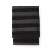 Käsipyyhe Finlayson Reiluraita, 50x70cm, harmaa, musta