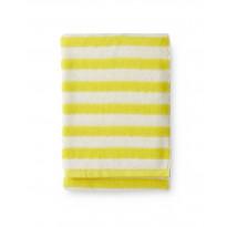 Kylpypyyhe Finlayson Reiluraita, 70x150cm, keltainen, valkoinen