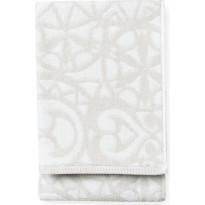 Kylpypyyhe Finlayson Rosette, 70x150 cm, harmaa/valkoinen