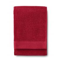 Käsipyyhe Finlayson Hali, 50x70cm, punainen