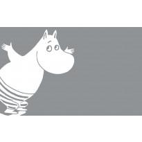 Kylpymatto Finlayson Muumipeikko sukeltaa, 50x80cm, harmaa