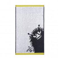 Kasvopyyhe Haisuli, valkoinen/harmaa, 30x50cm