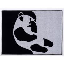 Käsipyyhe Finlayson Ajatus, 50x70cm, musta, valkoinen