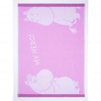 Käsipyyhe Lempimuumi, pinkki, 50x70cm