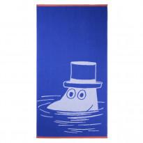 Muumipappa kylpypyyhe, sininen, 70x140cm