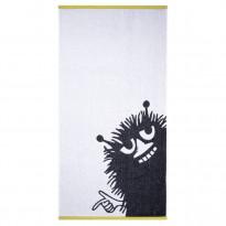 Haisuli kylpypyyhe, valkoinen/harmaa, 70x140cm