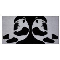 Kylpypyyhe Finlayson Ajatus, 70x140cm, musta, valkoinen