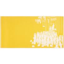 Kylpypyyhe Finlayson Hattivatit, 70x140cm, keltainen