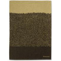 Keittiöpyyhe Finlayson Kuru, 50x70cm, musta/kulta