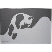 Keittiöpyyhe Finlayson, Ajatus 50x70cm, musta/valkoinen 2 kpl/pak